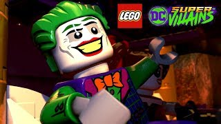 LEGO DC Super Villains Part 2 - It's Good To Be Bad (Joker and Harley Quinn Get a Crew!)