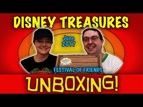 UNBOXING! Disney Treasures June 2017 - Festival of Friends - #Funko Subscription Box!