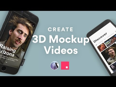 3D Mockup Videos of Your Designs—Rotato + InVision Studio