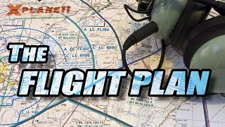 X Plane 11 - Basics [1/3] Flight Plan
