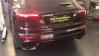 Neuer Porsche Cayenne GTS V6 Bi-Turbo Auspuffumbau asg-sound