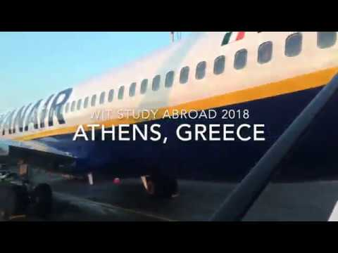 WIT Study Abroad 2018: Weekend in Athens, Greece