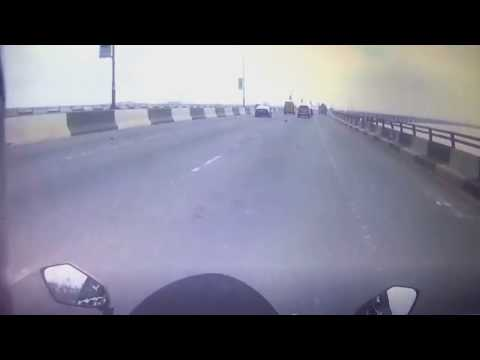 Close call on Third Mainland Bridge