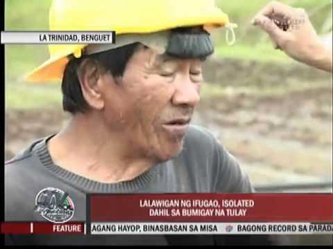 Burnay Bridge collapses, Ifugao still isolated