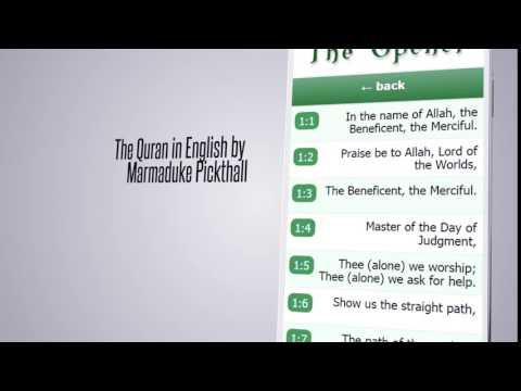Quran Pickthall Traslation For Pc - Download For Windows 7,10 and Mac