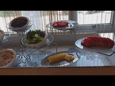 อาหารเช้าที่โรงแรมแกรนด์เซาเทิร์น อ.ทุ่งสง จ.นครศรีฯ