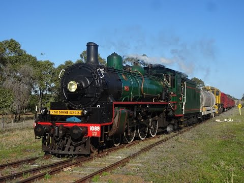BB18 ¼ 1089 - The Dawnie Express - Roma to Toowoomba - 12/09/2016