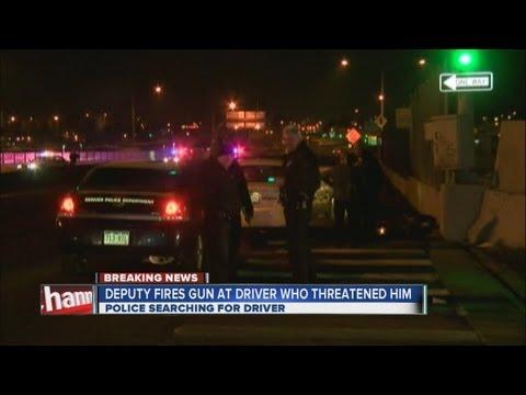 Denver deputy shoots at driver
