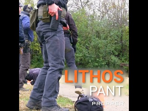 Lithos Covert Pants in Action