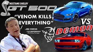 "2019 Shelby GT500: ""Venom Kills Demons"" TRUTH REVEALED! (New Video + New Leak From Jim Owens)"