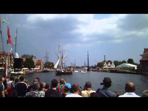 Baltic Sail parada - salwa honorowa