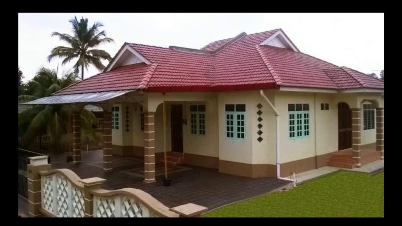 Desain Rumah Perumahan Sederhana Di Kampung Yang Terlihat Cantik Dan