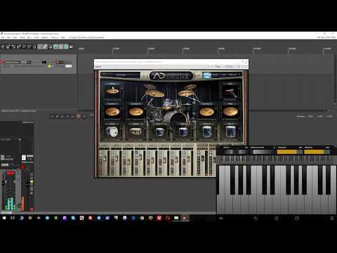 Настройка Addictive Drums в REAPER для игры на Android устройстве