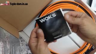"""Обзор нагревательного кабеля Woks 17 от фирмы """"Одескабель"""""""