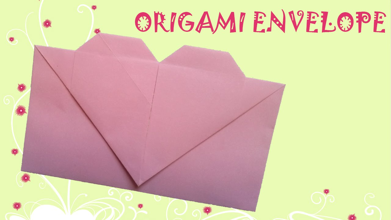 Squash Fold: How To Make An Origami Envelope | Origami 101 | Guides | 720x1280