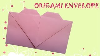 Origami Easy - Origami Heart Envelope