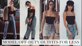GET THE LOOK: Models Off-Duty for LESS | Kendall Jenner, Bella Hadid, Kaia Gerber