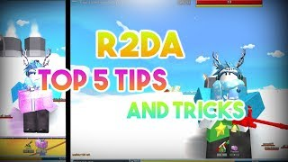 Reason 2 Die Awakening | Top 5 Tips and Tricks | ROBLOX |