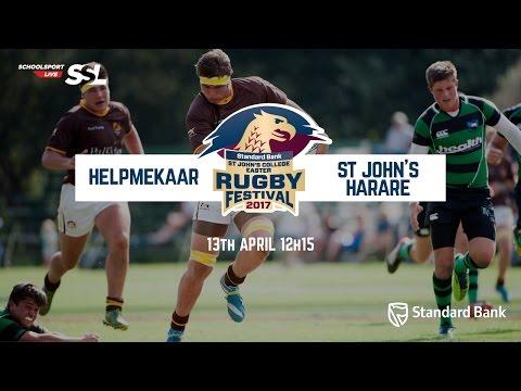 St John's Fest: Helpmekaar XV vs St John's Harare XV, 13 April 2017