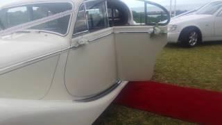 Jaguar Mk V wedding car