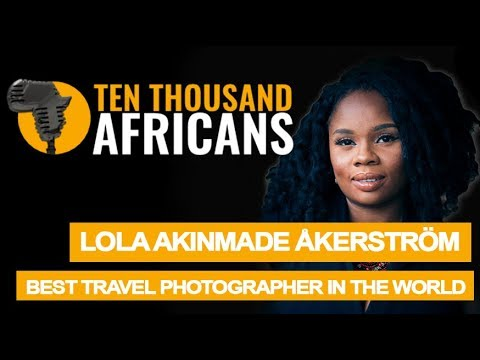Nigerian Woman on Top of the World of Travel Photography