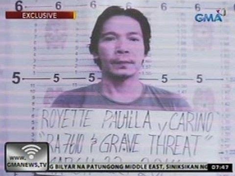 24 Oras: Royette Padilla, kalabosong muli matapos umano paputukan ng baril ang isang bahay