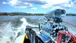 1973 Sanger V-drive boat Clear Lake California