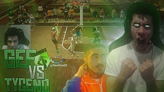 GeeSice Vs Tyceno! GeeSice POV! NBA 2K19 GAME OF THE YEAR! BEST OF 3!