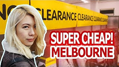 TOP 8 CHEAP SHOPPING PLACES IN MELBOURNE AUSTRALIA