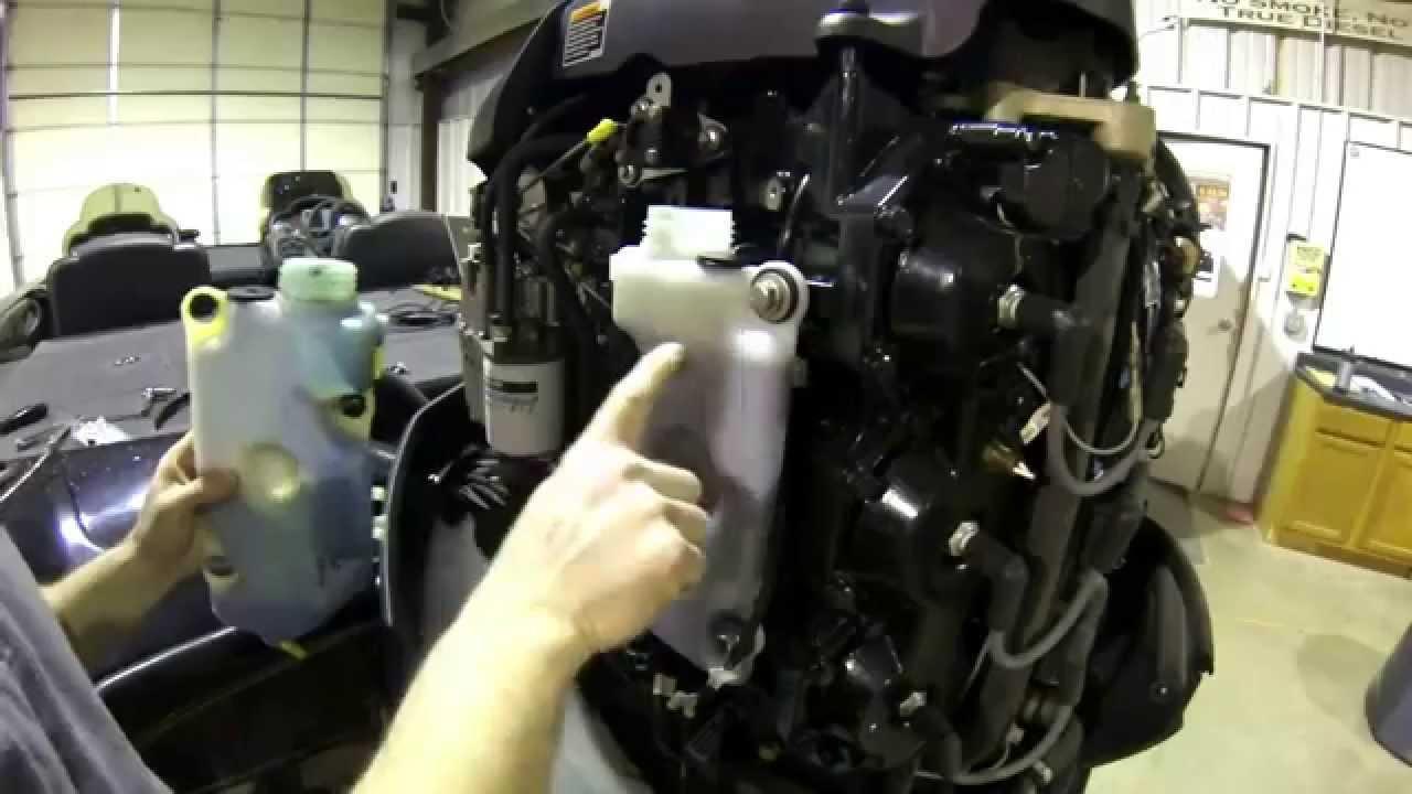 Mercury Oil Tank Level Sensor  4 Beeps Every 2 Minutes  YouTube