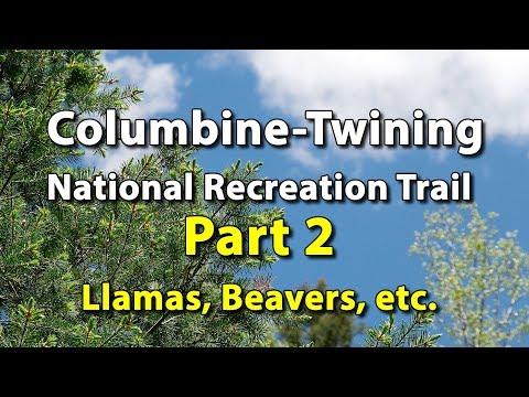 Columbine-Twining Hiking Trail - Red River, New Mexico - Llamas, Beavers & More - UHD 4k