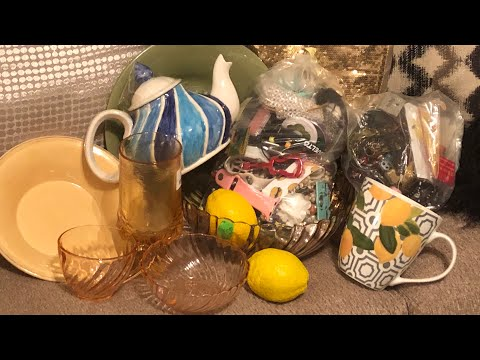THRIFT HAUL!!!  Jewelry bags and more good stuff!