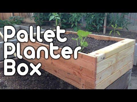 pallet-planter-box!
