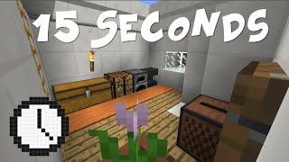 Minecraft [FR] - 15 Seconds - On a 15 secondes pour tout retenir !!