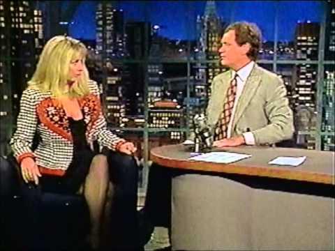 Vintage Letterman  Teri Garr