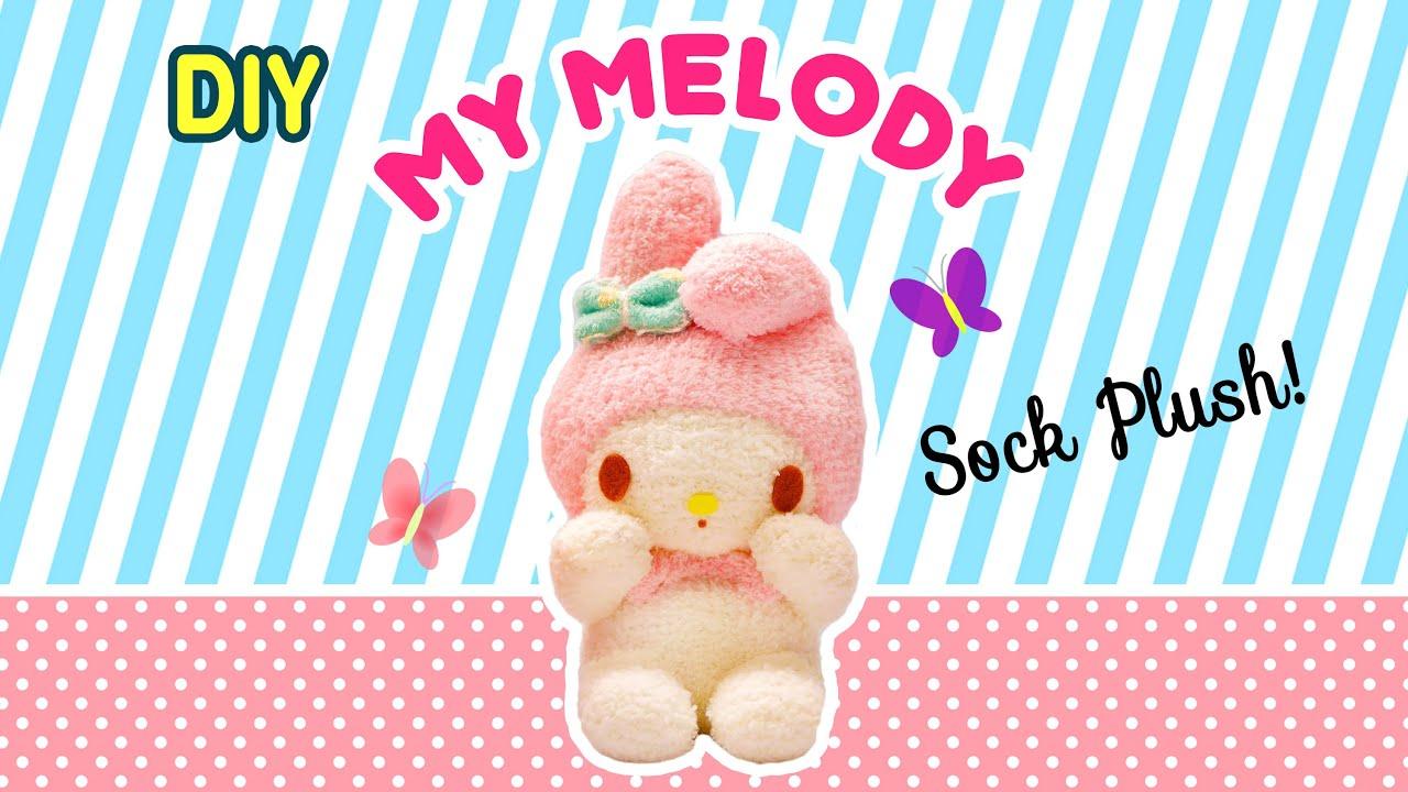 ♥マイメロディ♥ぬいぐるみ小物作り方☆DIY☆折り紙バルーンアート!サンリオ