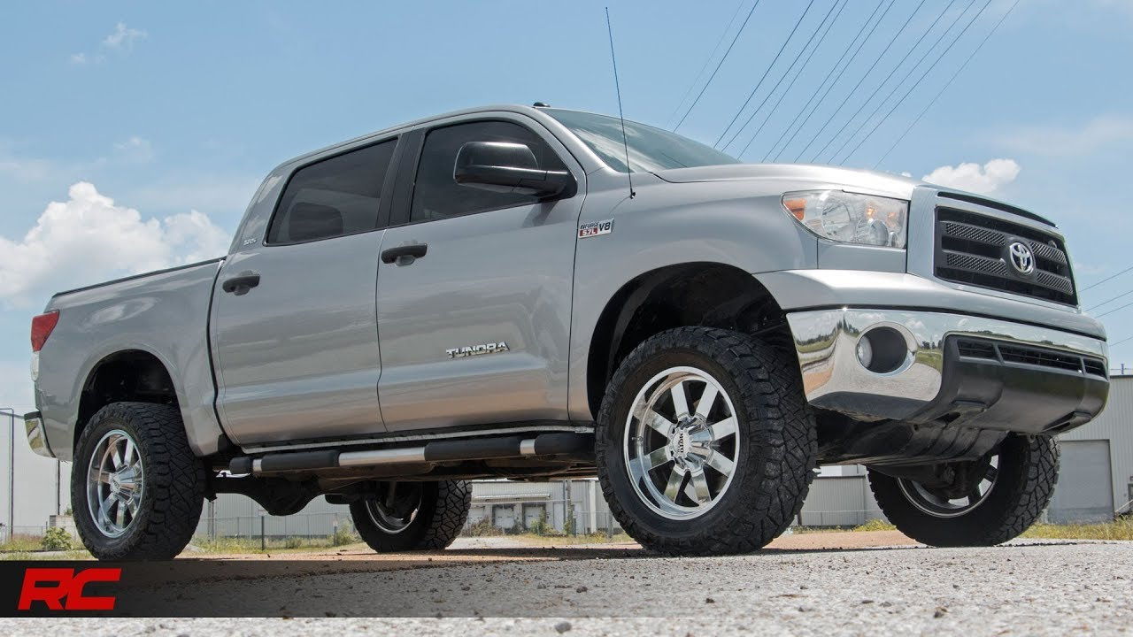 2007 2017 Toyota Tundra 3 5 Inch Bolt On Suspension Lift Kit By Rough Country
