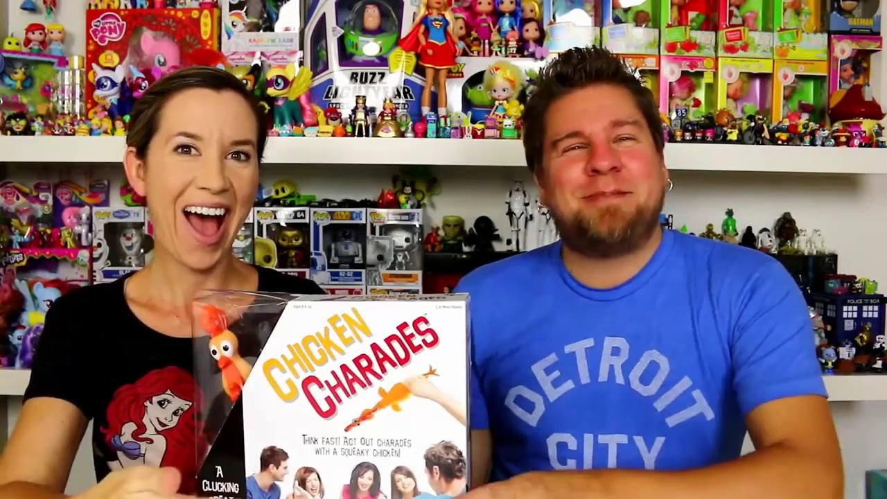 Chicken Charades Game Review by @HeyThatsMike