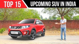 Upcoming SUV in India 2018