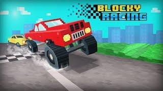 Blocky Racing - Nexx Studio Race Block Cars on City Roads Walkthrough