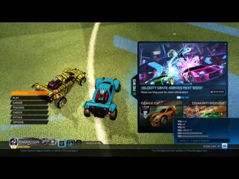 Rocket League  Road to Platinum part ?  Trading   Random junk