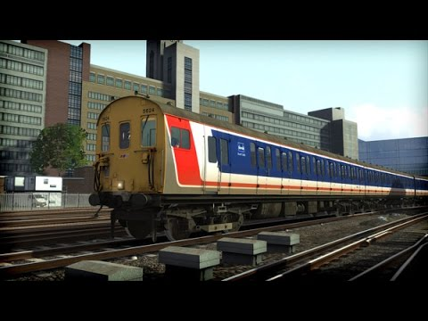 Train Simulator 2015 Gameplay  - Network Southeast Class 415/6 '4EPB' Preview