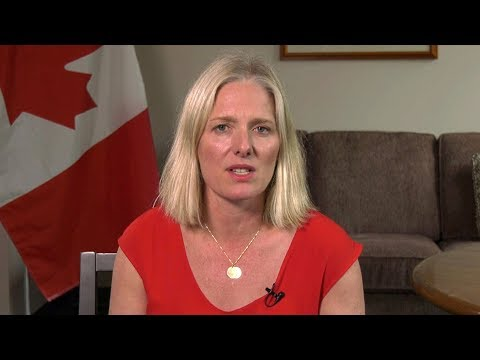 'Climate change is the biggest challenge we face': Catherine McKenna