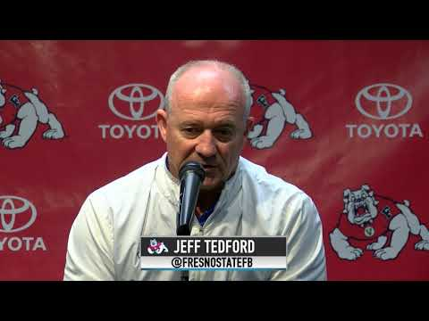 Fresno State Football: Jeff Tedford Press Conference (10/9/17)