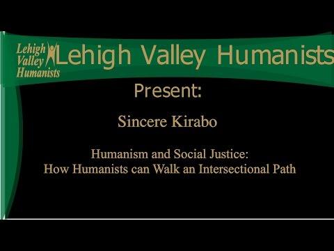 April 2016 Secular Sunday Speaker- Sincere Kirabo