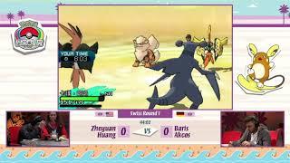 Pokemon World Championships 2017 VGC - Zheyuan Huang vs Baris Akcos