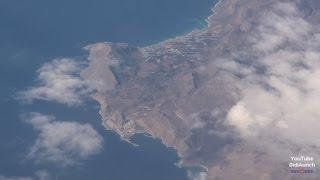 Griechenland Flug über Kreta Κρήτη Kriti und Κουφονήσι Koufonisi
