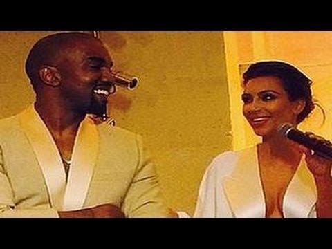 Kanye West Gives ROMANTIC Speech At His Wedding With Kim Kardashian
