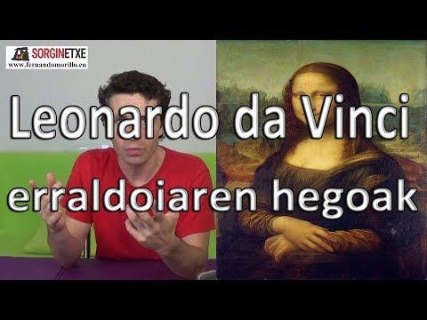 Leonardo da Vinci erraldoiaren hegoak - Fernando Morillo Grande (Sorginetxe istorioak)