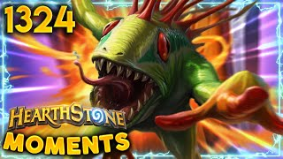 600 HP?? THAT'S NOTHING For My Murloc  | Hearthstone Daily Moments + Battlegrounds Ep.1324